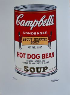 Andy Warhol (after), Campbell's Hot Dog Bean Soup