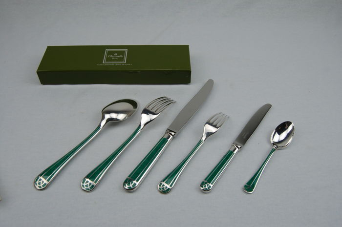 6 pieces cutlery Christofle \