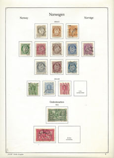 Norway - collection on preprint and blank sheets
