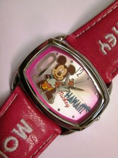 "Disney, Walt - Horloge ""Hawaii Resort""- Mickey Mouse (jaren 90"
