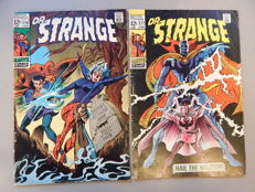 Marvel Comics - Doctor Strange #176 + # 177 - 2x sc - (1969)