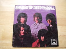 LP Shades of Deep Purple [Parlophone ‎– PMC 7055, Mono, UK]