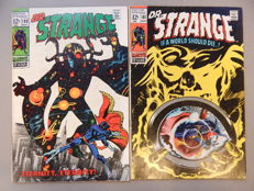 Marvel Comics - Doctor Strange #180 + # 181 - 2x sc - (1969)