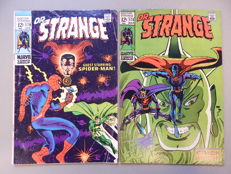 Marvel Comics - Doctor Strange #178 + # 179 - 2x sc - (1969)