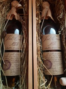 1950 & 1955 Armagnac Baron Gaston Legrand - 2 bottles in total
