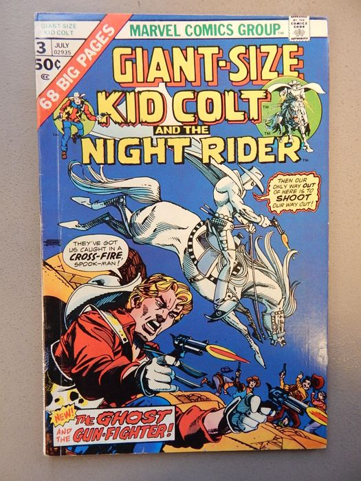 Marvel Comics - Kid Colt Outlaw- Giant-size #3 - 1x sc - (1975)