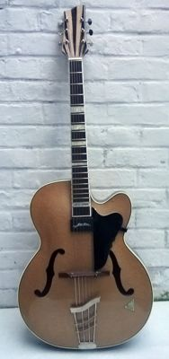Electro acoustic Archtop / Jazz VOSS Joker - German, late 50s/early 60s