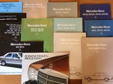 Mercedes-Benz - brochures -   13 items - 1978 / 1986