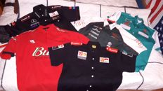 Prachtige shirts auto race teams