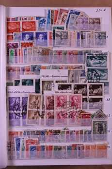 World 1900/2000 - Batch of approx. 12,800 stamps in a stock book