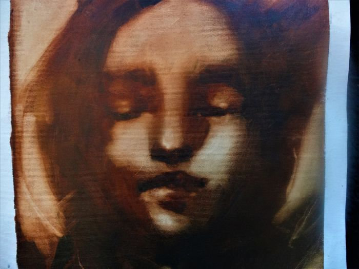Judith Bordas - Portrait ocre