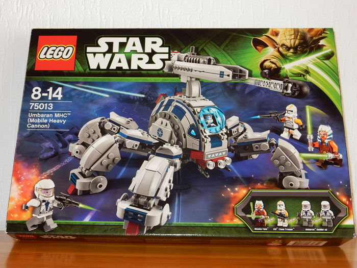 LEGO Star Wars 75013 MINIFIGS ONLY Ahsoka Tano 212th Trooper Umbaran Soldier