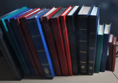 The Netherlands - Batch in various stock books