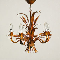 Unkown designer - Sheaf of wheat chandelier - Coco Chanel style