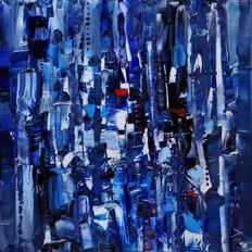 Dawid Figielek - BLUE ABSTRACT