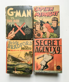 Lot of 4x Little Big Books - (1936 -1943)