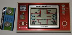 Game & Watch - widescreen -  Mario's Cement Factory