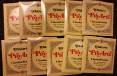 20 complete sets of D'Addario Pro Arte EJ45 strings for Spanish Guitar, normal tension