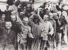 Unknown/ Keystone - Liberation of Dachau concentration camp, Germany, 1945 / Unknown/ACME - V2 Plant captured, Germany, 1945