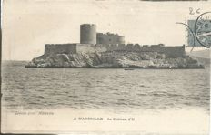 France - Marseille - 50 old postcards - Le Château d'If.
