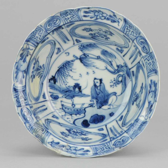 High Quality Porcelain Wanli Kraak Klapmuts - China - ca 1600 - 1640 Ming dynasty