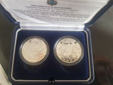 San Marino – 5 and 10 Euro 2003 'Olympic Games Athens 2004' - silver