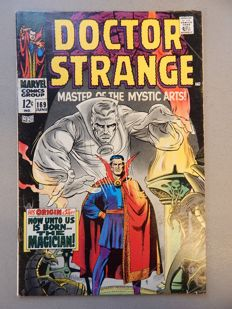 "Marvel Comics - Doctor Strange #169 - One of Marvel's ""Big Premiere Issues"" of 1968 - 1x sc - (1968)"