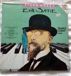 Satie & Other (mostly French) Composers - Lot of 12 Albums - 3 Double LP's + 9 LP's