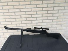 SNIPER - air rifle .22 + scope