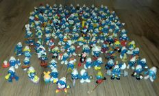 Beautiful collection of 120 Smurfs