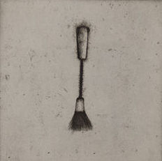 Jim Dine - Four German Brushes (Plate 3)