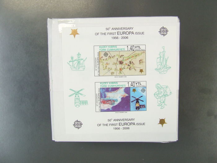 Turkish republic of Cyprus - Block 24B per 4,000 original packaging  Block 24B