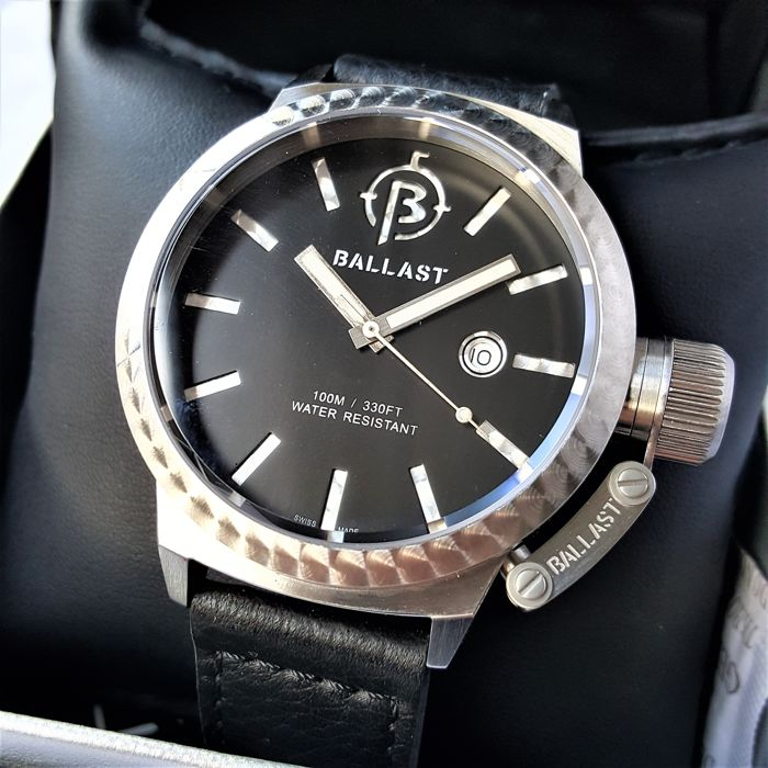 Ballast - Swiss Made Trafalgar Machined Limited Edition #17 - Homme - 2018 - New