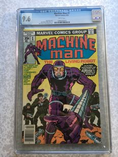 Marvel Comics - Machine Man #1 - CGC 9.6 - (1978)