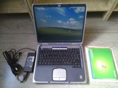 HP Pavilion ZE4400 - Vintage laptop - AMD Athlon XP 2400+ CPU, 512MB RAM, 60GB HDD, DVD Writer, Original Windows XP software