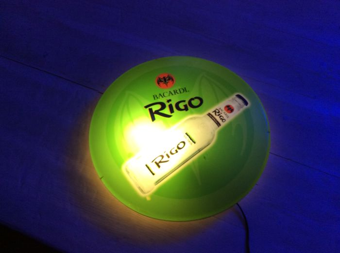 Rigo Bacardi illuminated advertising