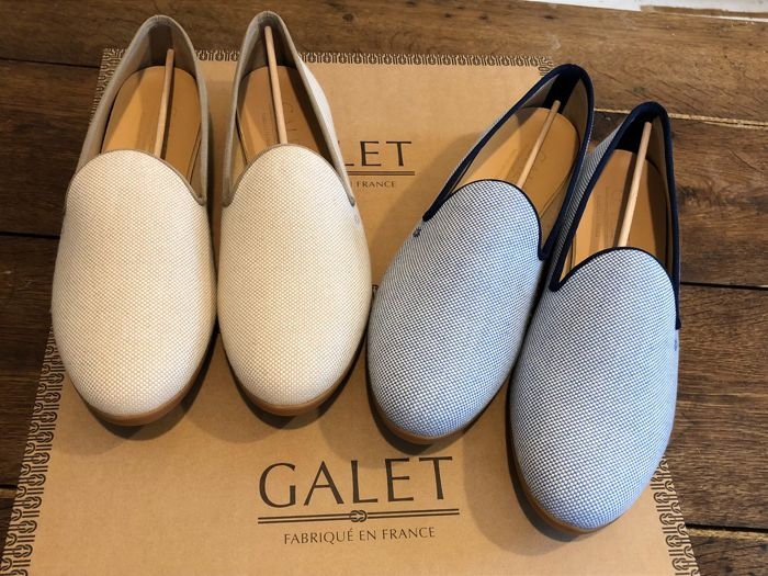 Galet - 2 Pair of French Loafers