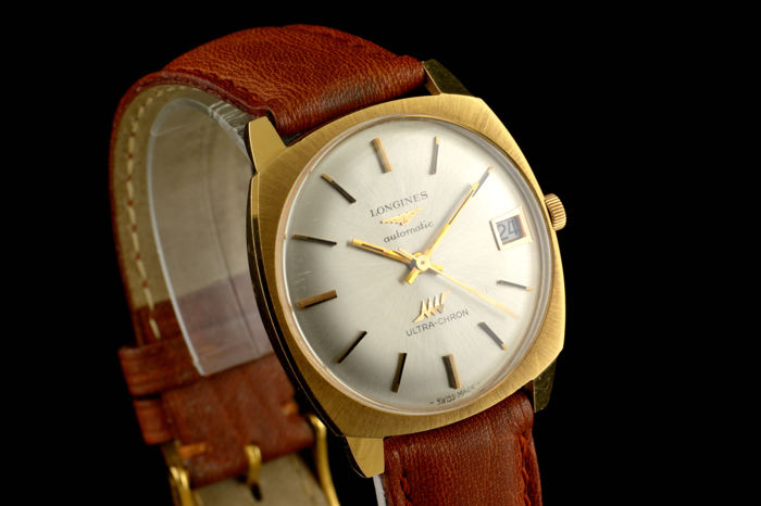 Longines - Ultra Chron Vintage Gold - 18K - Heren - 1970-1979