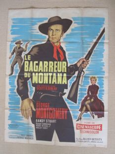 Anonymous - Man from God's Country (George Montgomery) - 1958