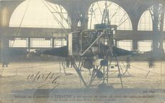 "Aviation - Ballooning - Lot of 15 old postcards ""including a photocard of aeronaut Lebaudy - articulated lateral propellers."