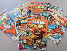Marvel Comics - Marvel Two-In-One #1 to 6 + 10 + King Size Annual #3 - 8x sc - (1970-1977)