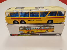 Dinky Toys - Bedford Vega Major Swiss Postal (PTT) Bus No.961