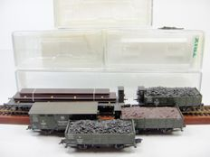 "Trix  H0 -  24304 - Goods wagon set ""steel transport"" of the K.W.St.E."