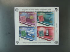 Montenegro - block 2 A, Mi. no. 108 to 111A, 500 pieces ** in original packaging