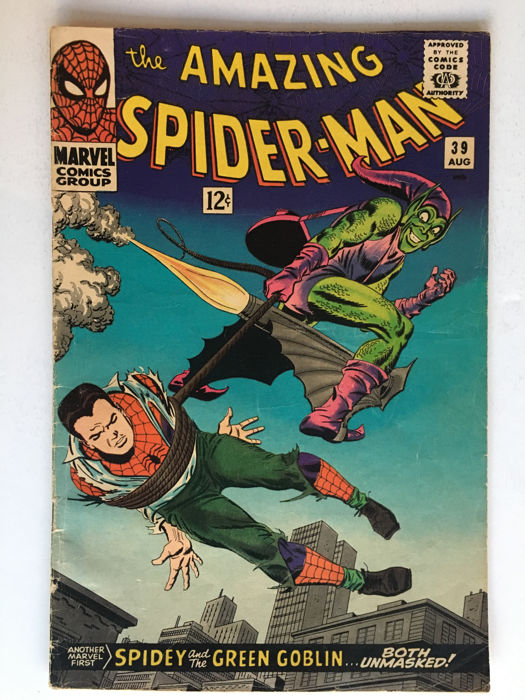 Marvel Comics - The Amazing Spider-Man #39 - first issue of John Romita sr  art on his Famous Spidey run - 1x sc - (1966) - Catawiki