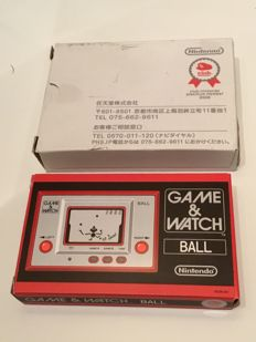 Club nintendo Japan - game & watch - Ball