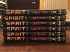 The Spirit - Will Eisner - Volumes 1-6 - DC Comics - Hardback Editions