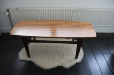 Designer unknown - vintage coffee table with reversible top