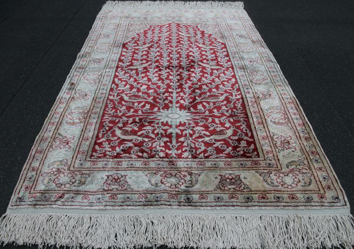 Hereke Silk , Turkey, 110 x 70cm