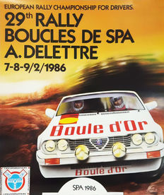 Anonymous - Boucles de Spa 29th Rally  - 1986
